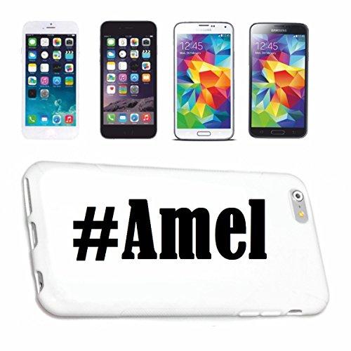 Reifen-Markt Etui pour téléphone Portable Compatible pour iPhone 7S Hashtag #Amel - l'affaire du téléphone n'est Pas de Apple Produit ou Vendu
