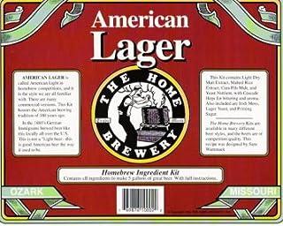 American Lager Home Beer Brewing Ingredient Kit