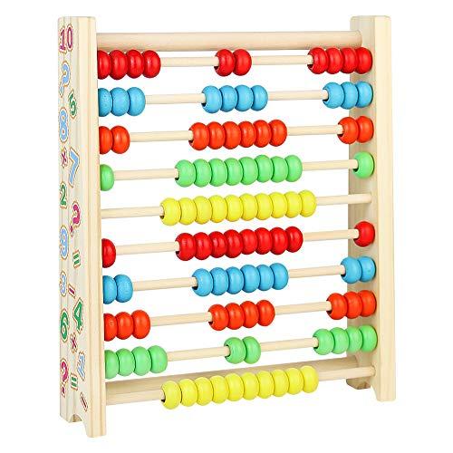 pequeño y compacto Ábaco vertical infantil de madera para juegos educativos Juguetes infantiles 345 años…