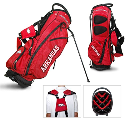Lowest Price! Team Golf Arkansas Razorbacks Fairway Lightweight 14-Way Top Golf Club Stand Bag