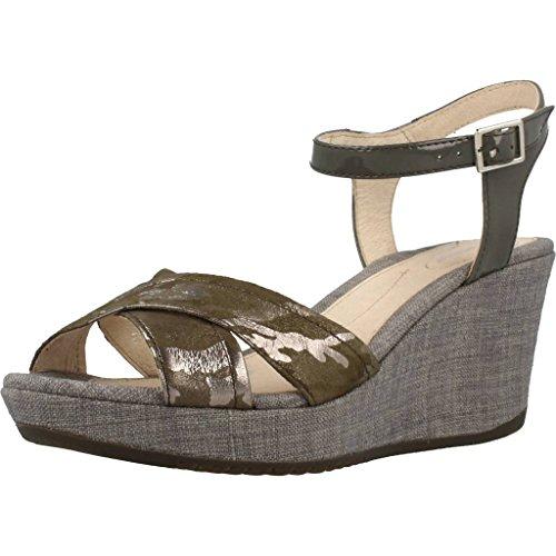 Stonefly 108308 Wedge sandals Frauen Grey 39