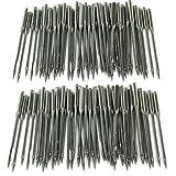Proumhang 50 pezzi di aghi per macchine da cucire domestiche 130/705H, HAx1, 15x1, taglia # 11/12/14/16/18