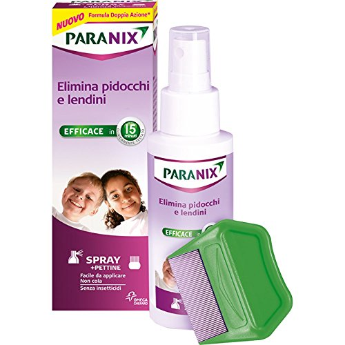 Paranix Spray Trattamento per Eliminare Pidocchi e Lendini, 100ml