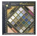 Look Book Palette Rock Fashion - The Color Workshop - Paleta de Maquillaje Profesional Plegable - Tamaño Perfecto para Llevarlo en un Bolso Mediano o Grande y Estar Siempre Perfecta