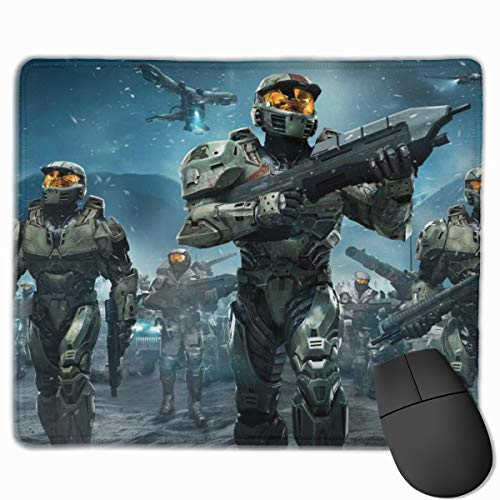 deborah saddsdr H-Al-O Novelty Gaming Mouse Pads Printed Overhand Pc Mouse Mat Wrist Pad 10' X 12' Gamepad