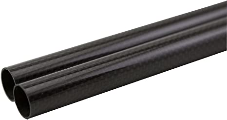 OD 38MM x 35mm 36mm 1000mm 3K Roll Wrapped 100/% Carbon Fiber Tubes pipe US