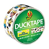 Duck Brand 284081 Licensed Duct Tape, Minions, 1.88 Inches x 10 Yards, Single Roll