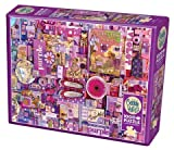 Cobble Hill 1000 Piece Puzzle - Purple - Sample Poster Included