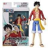 อะนิเมะวีรบุรุษ - One Piece - Monkey D. Luffy Action Figure 36931