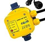 AWM AM-129 Pumpen Druckschalter automatische Pumpensteuerung, verkabelt, Trockenlaufschutz, Rückschlagventil, Manometer, max. 10 bar