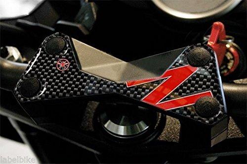 PROTEZIONE 3D PIASTRA FORCELLA Compatibile Per MOTO KAWASAKI Z750 Z1000 Z ROSSA