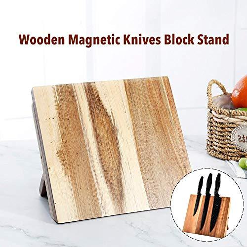 Portacoltelli Magnetico - Portacoltelli Magnetico Da Tavolo,Buona Flessibilità, Facile Da Pulire, 23,5x21 Cm