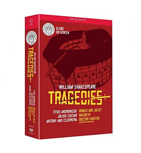 Coffret shakespeare 6 tragédies [Reino Unido] [DVD]