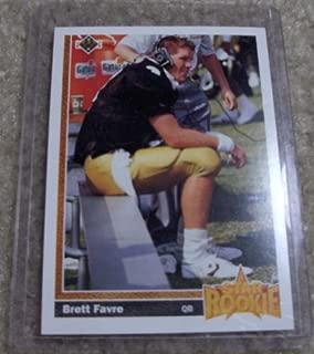 Best 1991 upper deck brett favre star rookie card Reviews