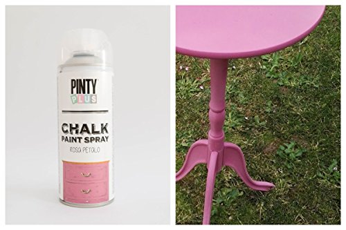 Pintura a la tiza en aerosol, con base al agua, varios colores,400ml , PINK PETALS, 400 ml