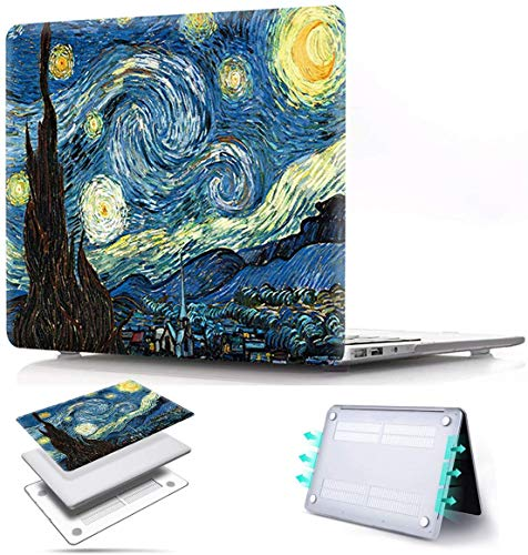 MacBook Pro 16 inch Case 2019 Release A2141 PapyHall Color Painting Plastic Hard Case for Newest MacBook Pro 16 inch with Touch Bar Touch ID Model: A2141 Midnight Sky