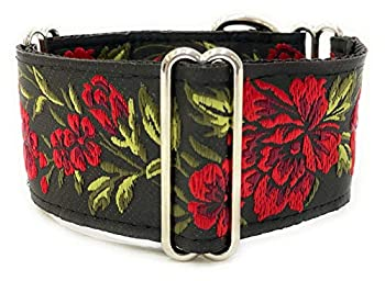 SightHound Gang Martingale Dog Collar for Greyhound Saluki Whippet and Other Breeds with Similar Neck 2  Wide  L 14 -18