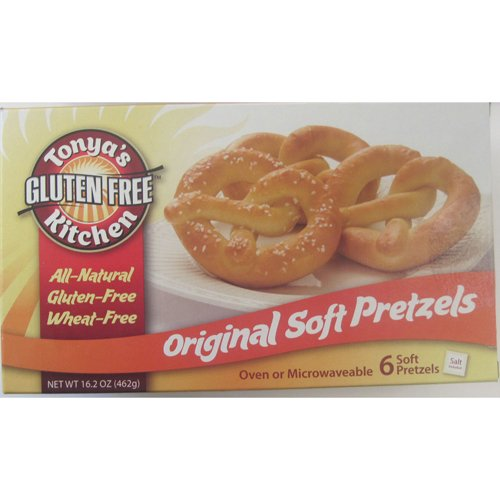 Gluten Free Original Soft Pretzel w/Salt - 16.2 oz (Pack of 8)