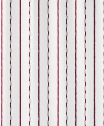 Kleine Wolke 4995453305 Duschvorhang Naomi, 180 x 200 cm, Rubin