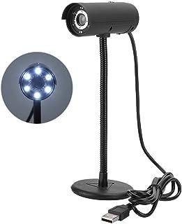 Eboxer USB Webcam Camera 480P, HD USB2.0 Long Pole Web Camera for Laptop/Desktop Computer Skype Video Call Recording