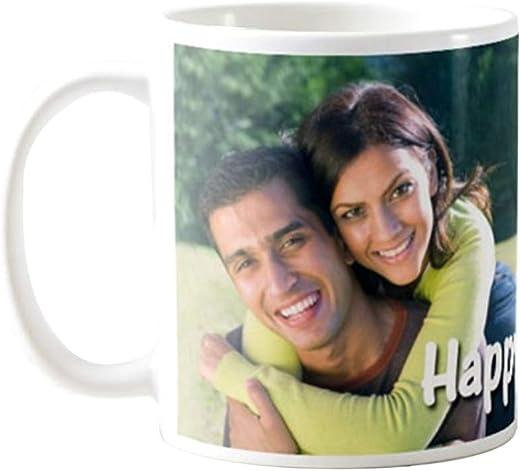 exciting Lives Personalised Ceramic Coffee Mug