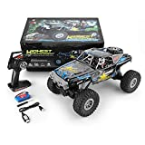 RC Cars Stunt Autospielzeug Doppel-Brücke Crawler RC Car 104310 2.4G 1/10 4WD (Color : Multi-Colored, Size : One Size)