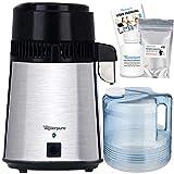 Destilador de Agua + Jarra de Cristal de 4 litros