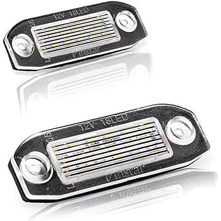 Led Kennzeichenbeleuchtung Nummernschildbeleuchtung Kennzeichen Mit Zulassung Canbus Plug Play V 032501 Auto