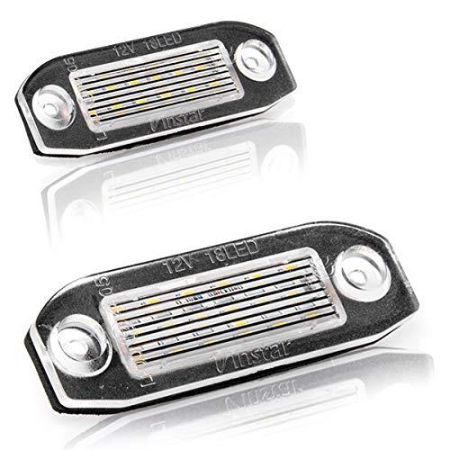 LED Kennzeichenbeleuchtung Nummernschildbeleuchtung Kennzeichen mit Zulassung Canbus Plug&Play V-032501