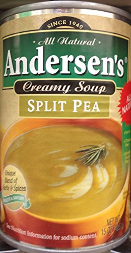 Andersen's Split Pea Soup 15oz. Can (Pack of 4)