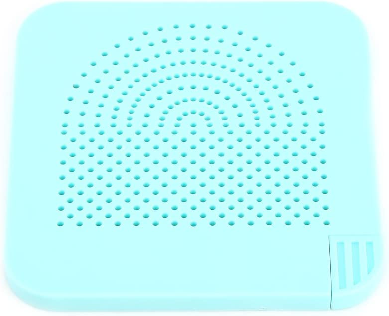 Tablero de Enrollar de Papel de Quilling Herramienta de Gu/ía de Rejilla de Rollo Herramienta de Quilling de Papel Azul
