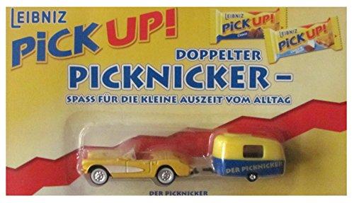 Leibniz Nr. - Pick Up der Picknicker - Cabrio mit Wohnwagen