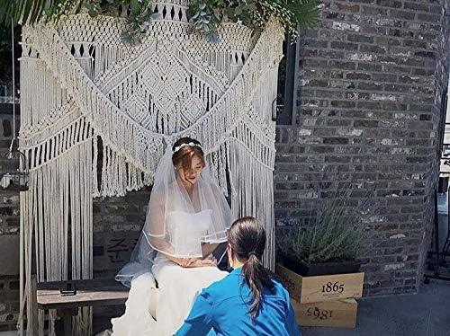 American Knit Super beauty product restock quality top Bohemian Macrame Wedding Max 41% OFF Backdrop Boho Decor Chic