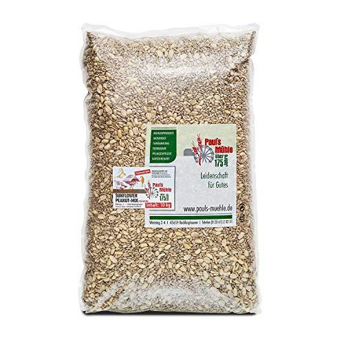 Pauls Mühle Sunflower Peanut Mix 10 kg, Mischung aus Sonnenblumenkernen und Erdnüssen