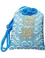 IMIKEYA 1pc Omamori Charm para la Salud y la japonés Santuario Amuleto bendición Bolsa