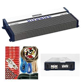 Hifonics BXX2400.1D Brutus Class D 2400W RMS Mono Car Subwoofer Amplifier w/Amp Kit