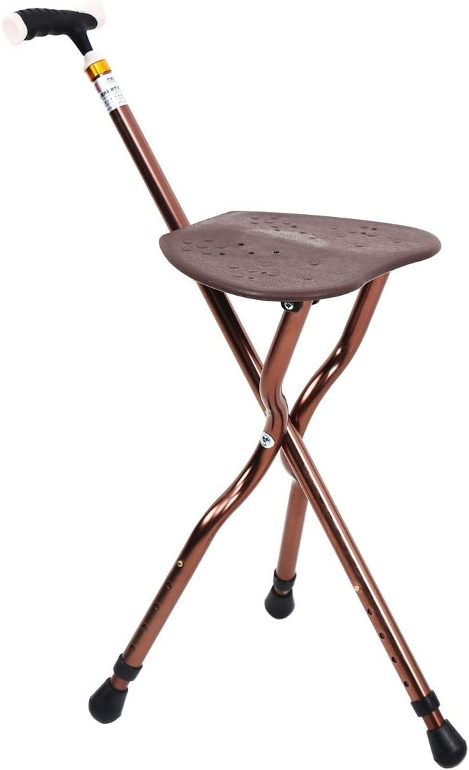 Finally popular brand Best Cane Stool Limited time trial price Walking Retractable St Lightweight Seats