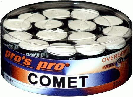 Pro's Pro 30x Comet greepbanden 30 stuks doos/verpakking wit grip wit