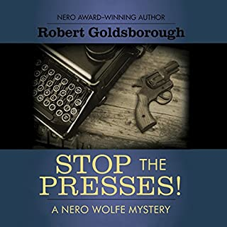 Stop the Presses! audiobook cover art
