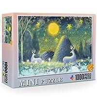 MIOAHD ジグソーパズル、1000個/セットジグソーパズル世界の有名な絵画ヴァンゴッホ油絵大人の子供たちDIYジグソーパズル創造性想像おもちゃ