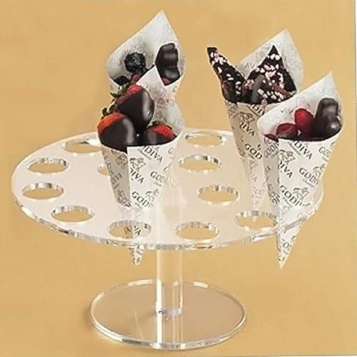 16 EIS Sü keiten Acryl Halter Cupcake Kegel Halter St er Für Hochzeit Kinder Geburtstag Party Buffet Display