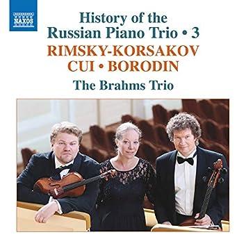 History of the Russian Piano Trio, Vol. 3
