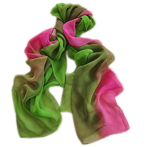 Gradient Colors Chiffon Scarves - Sun Protection, Cycling, Beach Towels …