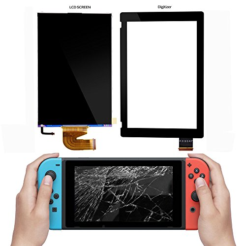 LCD for Nintendo Switch, COCOTOP Replacement Parts Accessories Sets Screen Display for Nintendo Switch Gamepad Controller (Only LCD Screen)