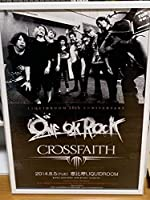 ONE OK ROCK Crossfaith ポスター