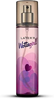 Layer'r Wottagirl Secret Crush Body Splash For Women, 135ml