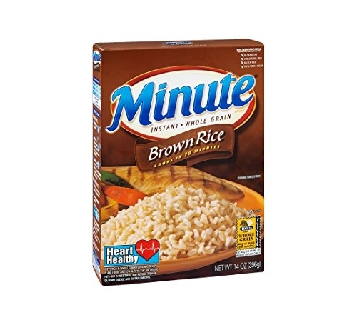 Minute Instant Whole Grain Brown Rice - 14oz