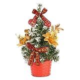 XYLZDPZ Syczdsds Árbol de Navidad Artificial Decoración de Mesa Mini Festival de Navidad árbol de Navidad árbol Miniatura 20cm arbol Navidad Fieltro (Color : C)