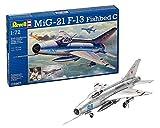 Revell - 03967 - Maquette D'aviation - Mig-21 F.13 - 83 Pièces - Echelle 1/72