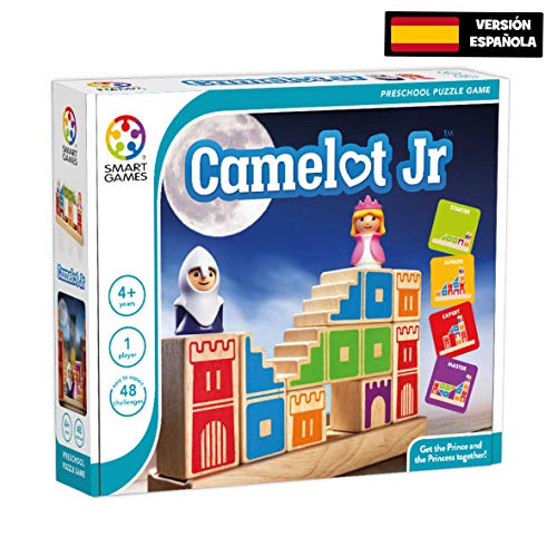 Smart Games lúdilo sg031es–Camelot Jr, Baukasten